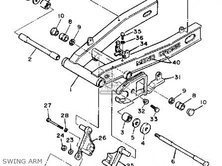 Yamaha Fz600 1986 Fazer Usa Parts Lists And Schematics