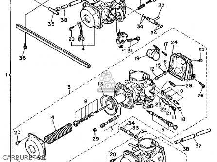 Yamaha Fz700 Genesis 1987 H Usa Parts Lists And Schematics