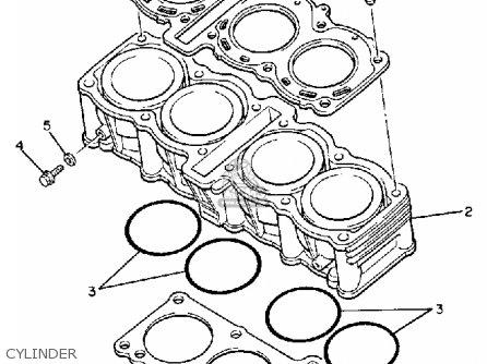 Yamaha Fz750 Genesis 1988 J Usa Parts Lists And Schematics