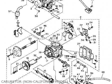 Yamaha Fzr1000 1989 K Usa Parts Lists And Schematics