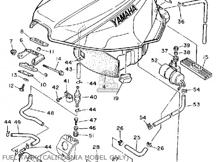 Yamaha Fzr1000 1991 M Usa Parts Lists And Schematics