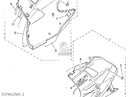 Yamaha Fzr1000 1992 N Usa Parts Lists And Schematics