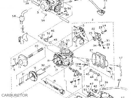 Yamaha Fzr D Carburetor Mediumyau B E C on Yamaha Fzr1000d 1992 Parts List Partsmanual Partsfiche