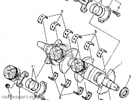 Yamaha Fzr400 Genesis 1990 L Usa Parts Lists And Schematics