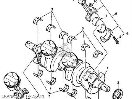Yamaha Fzr600c 1990 Exup Usa California Parts Lists And Schematics