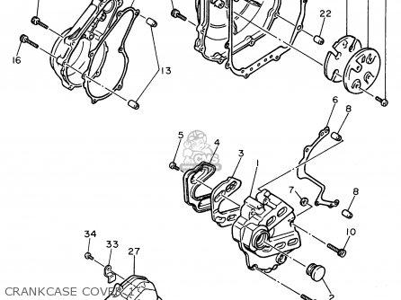 Yamaha Fzr600r 1996 t Usa Crankcase Cover 1