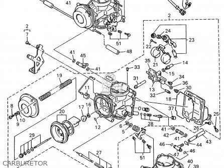 Yamaha Fzr600rh 1996 Usa Carburetor