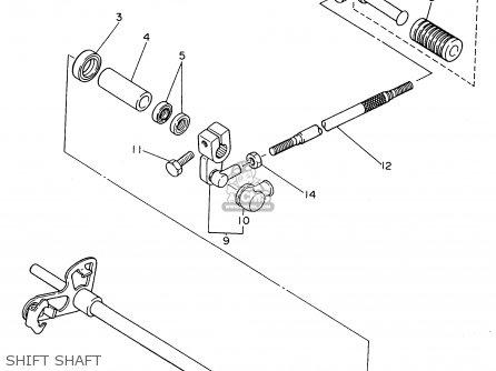 Yamaha Fzr600rh 1996 Usa Shift Shaft