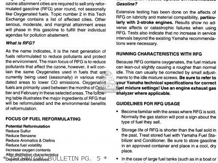 Yamaha Fzr600rh 1996 Usa   Technical Bulletin Pg   5