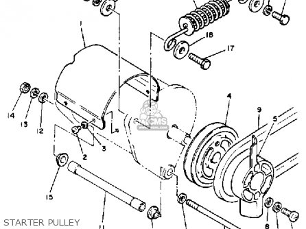 John Deere 160 furthermore Yamaha G16 Golf C Wiring Diagram Electric together with Partslist besides Yamaha G16 Golf Cart Engine Diagram in addition 1979 Yamaha Srx 440 Electrical Assembly. on yamaha drive golf cart parts