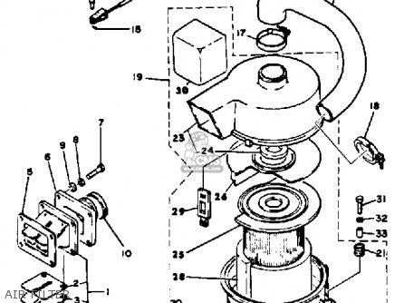 1985 Yamaha G1 Parts