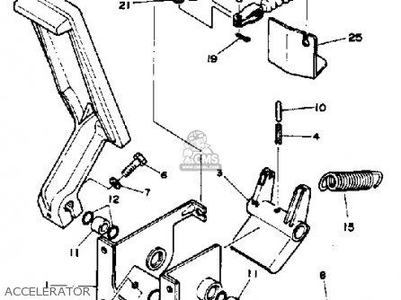 yamaha g1 am4 golf car 1984 parts lists and schematics yamaha g1 am4 golf car 1984 accelerator