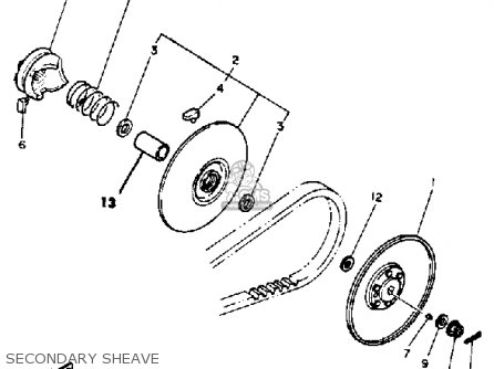 yamaha g1 am4 golf car 1984 parts lists and schematics. Black Bedroom Furniture Sets. Home Design Ideas