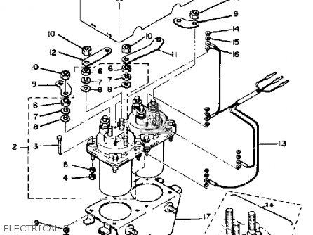 Yamaha G1 Golf Cart Starter Generator Wiring Diagram