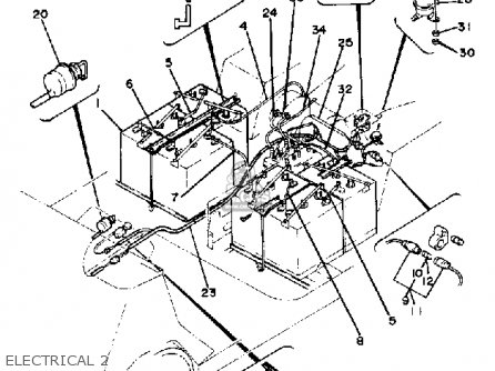 yamaha g1 e2 golf car 1981 electrical 2_mediumyau0260c 6_b094 1981 ford f100 wiring diagram 1981 find image about wiring on 1975 chevy wiring diagram 350