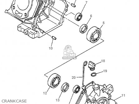 yamaha g16-ap/ar 1996/1997 parts lists and schematics yamaha golf cart 36v wiring diagram yamaha golf cart secondary clutch diagram