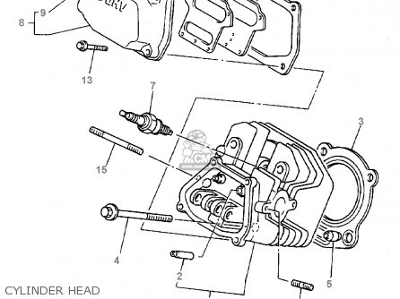 yamaha g16-ap/ar 1996/1997 parts lists and schematics yamaha golf cart fuel pump diagram yamaha golf cart g222 clutch diagram