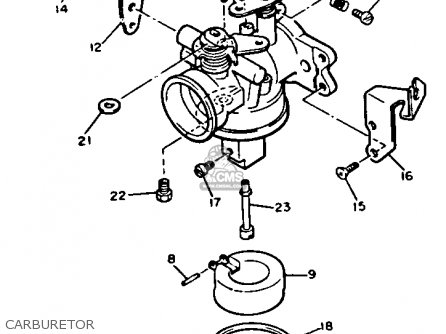 Yamaha G2 A5 1985 Parts Lists And Schematics