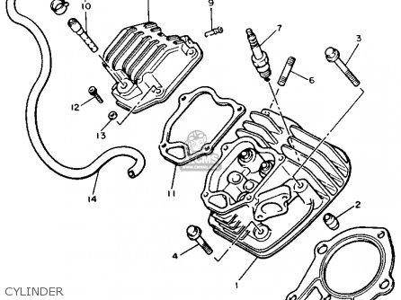 Yamaha G2 A6 1986 Parts Lists And Schematics