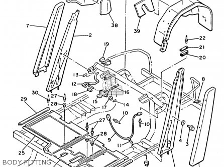Yamaha G8 Suspension Diagram