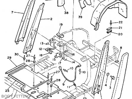 Electric Golf Cart Wiring Diagram Yamaha G2e