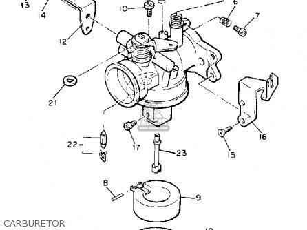Yamaha G Ad Carburetor Mediumyau A on Yamaha Carburetor Diagram