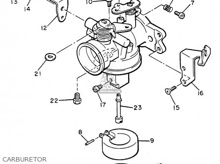 Stromberg Carburetor additionally Partslist additionally T5794060 Own 1993 yamaha together with Partslist in addition Partslist. on carburetor fuel fitting