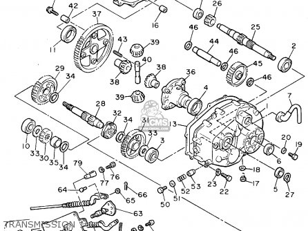 Yamaha G2 Golf Cart Transmission Diagram
