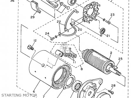 yamaha g8ak golf car 1994 parts lists and schematics. Black Bedroom Furniture Sets. Home Design Ideas