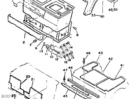 Yamaha Golf Cart Body Parts
