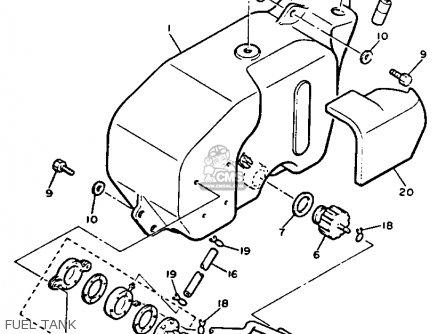 Diagram Yamaha G9 Engine Crankcase Diagram