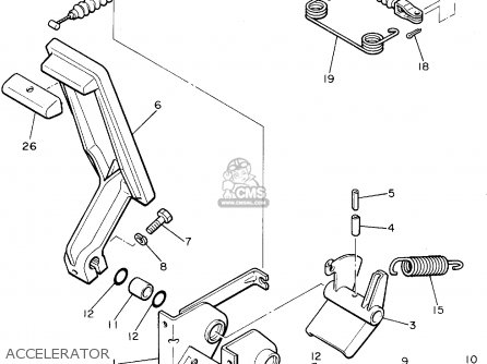 Yamaha G8 Ak Golf Car 1994 Parts Lists