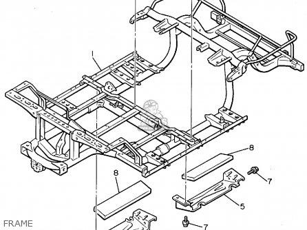Yamaha G9 Ak Golf Car 1994 Parts List Partsmanual Partsfiche
