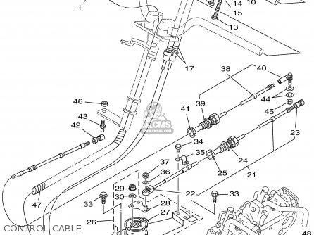Yamaha Gp800x 1999    parts    list partsmanual partsfiche
