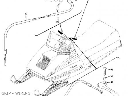 Yamaha Gs340 1976 Grip - Wiring