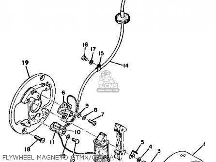Yamaha Gt1 1973 1974 Usa Flywheel Magneto Gtmx gtmxa