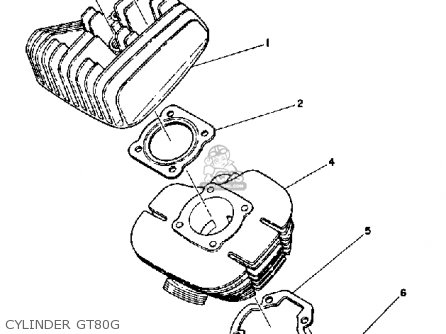 Yamaha Gt80 1980 Usa Parts Lists And Schematics