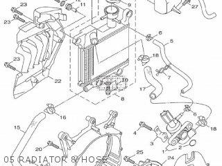 Yamaha Hw125 2012 53b1 Europe Xenter 1l53b-300e1 05 Radiator  Hose