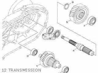 Yamaha Hw125 2012 53b1 Europe Xenter 1l53b-300e1 12 Transmission