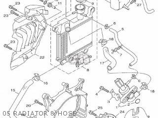 Yamaha Hw151 2012 52s1 Europe Xenter 1l52s-300e1 05 Radiator  Hose