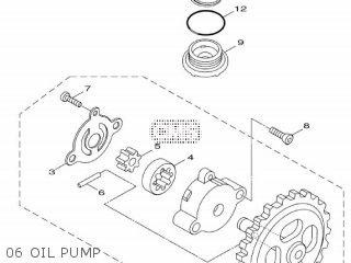 Yamaha Hw151 2012 52s1 Europe Xenter 1l52s-300e1 06 Oil Pump