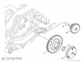 Yamaha Hw151 2012 52s1 Europe Xenter 1l52s-300e1 10 Starter