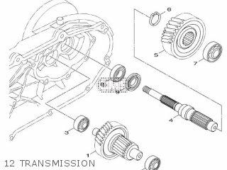 Yamaha Hw151 2012 52s1 Europe Xenter 1l52s-300e1 12 Transmission