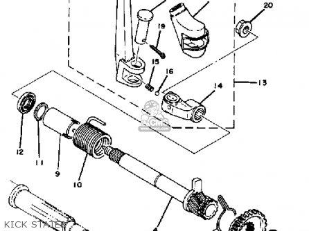 yamaha it 175 wiring diagram yamaha steering diagram