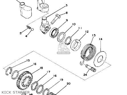 Honda xrm 125 parts diagram