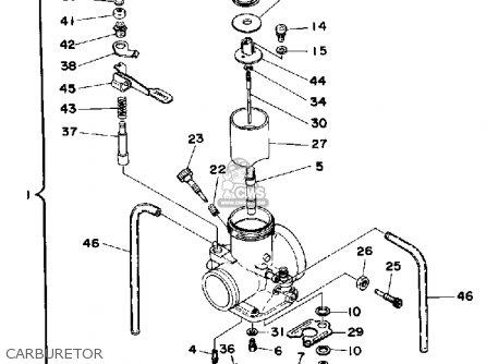 Yamaha It425 1980 a Usa Carburetor