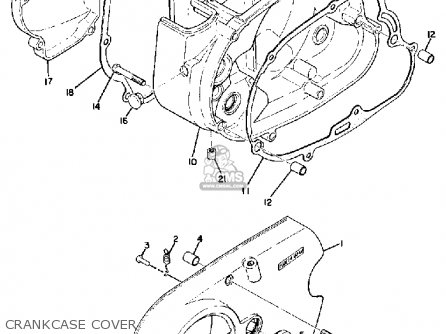 Yamaha Jt1 1971 Usa Parts Lists And Schematics
