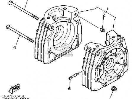 yamaha kt100 racing engines wiring diagram and parts diagram images