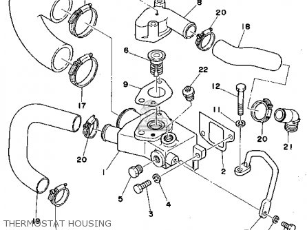 Yamaha L4 3 0 1990 Engine Parts Lists And Schematics