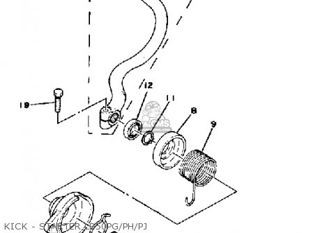 Yamaha Chappy Carburetor on yamaha champ wiring diagram